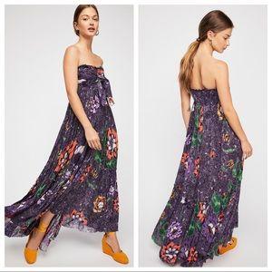 Free People One Bali Nights Purple Maxi Dress